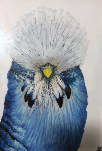 Illustration Copic Bird