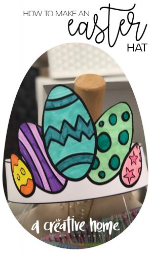 how to make an easter hat