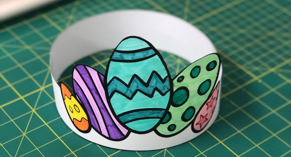 Easter Hat Craft