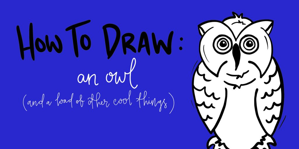 How To Draw: The Owl
