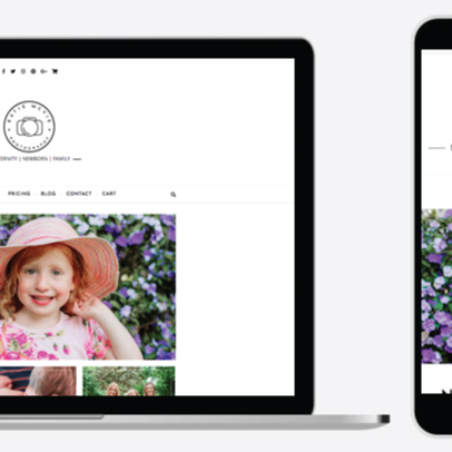 Web Design – Katie McVie Photography
