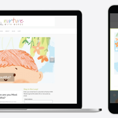 Nurture with Words Branding
