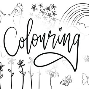 Colouring Book Kids