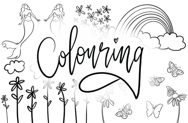 Colouring Book - Kids